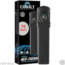 Aquarium Heater Cobalt Neo Therm 75 Watt LED Display FREE USA SHIP
