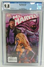 Ms. Marvel #18 (2007) Sexy Greg Horn Cover CGC 9.8 CW473