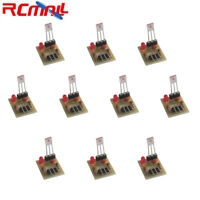 10Pcs Laser Receiver Sensor 5V Detection Module Non-modulator Tube for Arduino