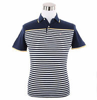 Tommy Hilfiger Men Short Sleeve Classic Fit Stripe Pique Polo Shirt-$0 Free Ship