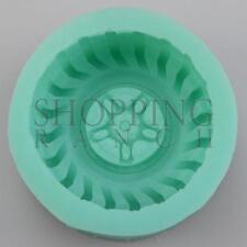 RUOTE Pneumatici stampo in silicone torta Sugarcraft CIOCCOLATO MODELLING TOOL MOLD
