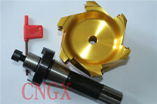 BAP400R-S100-22-6T AluminumCutter+R8-22 Face Mill Arbor Shell Morse Taper Holder