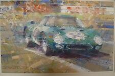 Ferrari 250LM - Original painting by Dexter Brown