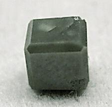 2.02Ct 1 Gray Polished Natural  ROUGH DIAMONDS Cube Gem