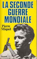 Livre la seconde guerre mondiale P. Miquel book