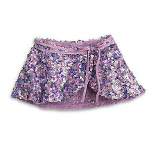 American Girl Isabelle's Gorgeous Purple Sequin Sparkly Dance Skirt for Dolls