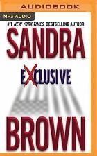 Exclusive by Sandra Brown (2016, MP3 CD, Unabridged)