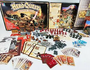 Heroquest Board Game Advanced QUEST EDITION Games Workshop [ENG,1989]