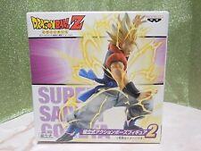 NEW Dragon Ball Super Saiyan Gogeta Action Pose Figure 2 BANPRESTO fom Japan