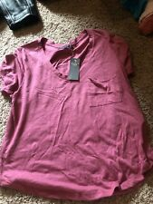 Womens Abercrombie And Fitch Pocket Tee