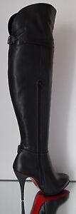 Damen Echtleder HIGH HEELS Stiefel Exklusiv 1233, Italinische Mode , Neu & OVP
