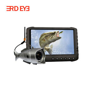 "IP68 Underwater 1080P 170 deg Video Fishing Camera with 5"" TFT Color DVR Monitor"