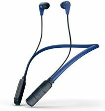 Skullcandy Ink'd Bluetooth Wireless Earbuds with Microphone, Noise Isolating Blu