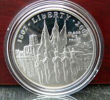 1 Dollar USA 200 Jahre West Point Militär-Akademie 2002 Kapsel, Etui, Zertifikat