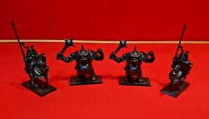 Battle Masters Board Game Chaos Lord & Ogre Champions 4 Miniatures MB 1992