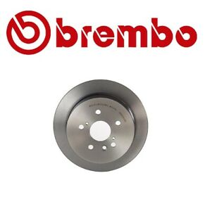 For Lexus RX330 RX400h Toyota Highlander Rear Solid Disc Brake Rotor Brembo