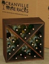 Oak Wine Racks 20-29 Bottle Capacity