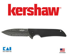"Kershaw Knives 1760DAM Skyline 3.125"" Blade Damascus Steel Textured G-10 Handle"