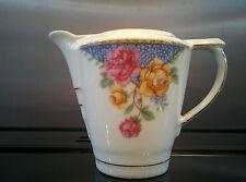 Vintage Victoria Czechoslovakia china Floral design jug