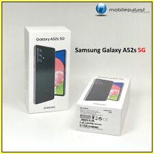 Samsung Galaxy A52s 5G 128GB SM-A528B/DS Awesome Black Dual SIM Händler OVP NEU