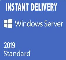 Windows Server 2019 Standard 64bit Genuine Key +download link
