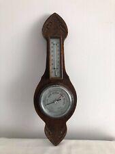 Vintage Wooden Wall Barometer!