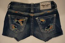 BIG STAR LIV JEAN SHORTS LOW RISE FIT SIZE 23 VINTAGE COLLECTION NWOT