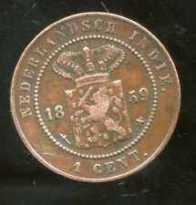 INDE  nederlandsch  indie   1 cent  1859