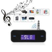 Bluetooth Wireless 3.5mm Music Audio FM Transmitter Car MP3 Radio LCD Display