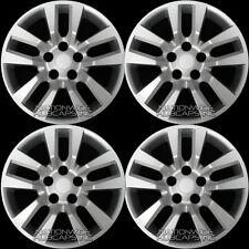 "4 New Wheel Covers for 2002-2018 Nissan Altima 16"" Snap On Full Rim Hub Caps R16"