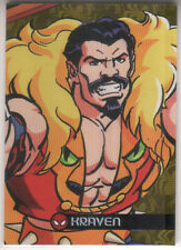 2017 Fleer Ultra Spider-Man Royal Foil GC11 Kraven 84/99