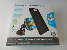 "Speck Presidio Mount + Magicmount Pro Charge For iPhone 8/7/6s/6 Plus 5.5"" Black"