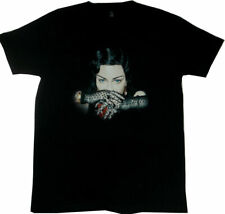 MADONNA  MADAME X TOUR LACE GLOVES ITINERARY T-SHIRT OFFICIAL Black Small New