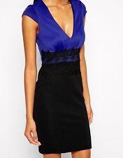 Lipsy Women's Polyester Short/Mini Stretch, Bodycon Dresses
