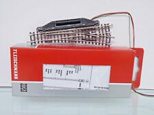 FLEISCHMANN 22263 - scala N - elettr. deviatoio destro 15° - NUOVO in scatola