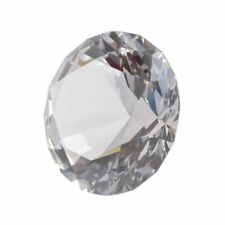 LONGWIN 80mm 3.1 Inch Crystal Diamond Paperweight Jewels Wedding Decorations Day