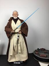 1/6 SCALE- custom - sideshow Star Wars- obi wan kenobi, repainted head...