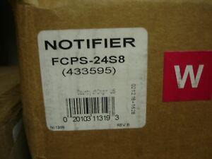 "NOTIFIER  FCPS24-S8    ""NEW"""