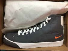 NIKE PLAYER CANVAS TESSILE High alta NUOVO gr:46 us:12 Estate Sneaker Stivali