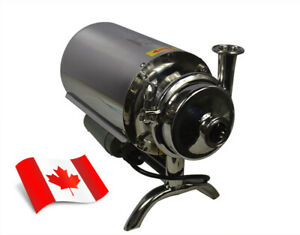 New Model 110V Food Grade Centrifugal Pump 3T/h 304 Stainless Steel USA