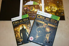 XBOX 360 GAME DEUS EX HUMAN REVOLUTION +BOX & INSTRUCTIONS PAL