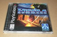 Missile Command for Playstation PS1 Complete Fast Shipping!