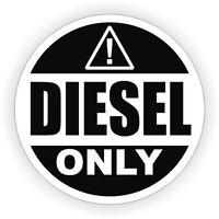 aufkleber sticker auto motorrad helm macbook nur diesel only schwarz mietwagen