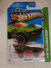 NEW 2013 Mattel Hot Wheels Treasure Hunts #51/250 Sting Rod II HW Imagination