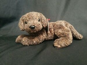 """Ty Beanie Baby -RARE """"Fetcher"""" The Dog Mint Condition Vintage DOB: 4/27/2000"""
