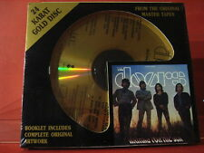"""DCC GZS-1045 THE DOORS """" WAITING FOR THE SUN """" (24 KT GOLD COMPACT DISC/SEALED)"""