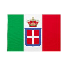 Bandiera da bastone Casa Savoia Bandiera Reale Italiana 50x75cm
