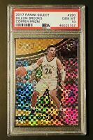 2017 Select Courtside Copper Prizm Dillon Brooks RC Rookie /49 PSA 10 GEM MINT