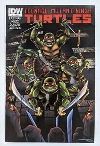 Teenage Mutant Ninja Turtles 9 RI 1:10 Limited Variant Cover IDW 2011 NM