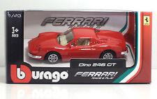 Bburago 36000 FERRARI Dino 246 GT - METAL 1:43 Race&Play